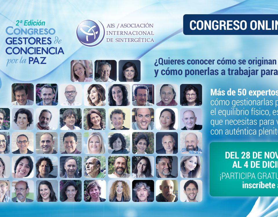 """Segundo Congreso Virtual Internacional """"Gestores de Conciencia por la Paz"""""""