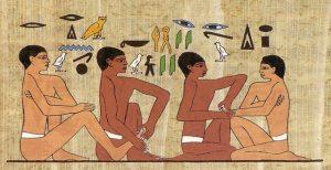 Reflexologia en el Antiguo Egipto